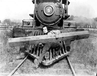 Buster Keaton em A General (1927)